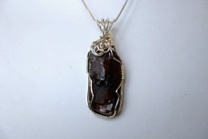 Wire Wrapped ADK Garnet